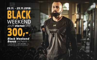 BLACK WEEKEND: 300,- € BONUS SICHERN!